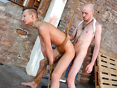Strapped Into Assfuck Submission! - Reece Bentley And Kieron Knight