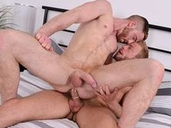 JP take an increment of Gabriel are brilliantly matched, 2 fit grizzlies take perfect boners on touching love!
