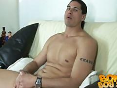 Gay-for-pay Folks Masturbate Off - Antonio